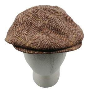 Goorin Bros Newsboy Hat Brown Small